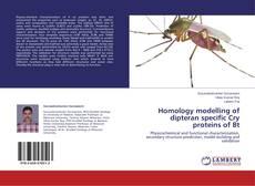 Capa do livro de Homology modelling of dipteran specific Cry proteins of Bt