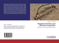 Обложка Negation Particles and Historical Linguistics