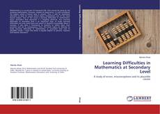 Capa do livro de Learning Difficulties in Mathematics at Secondary Level