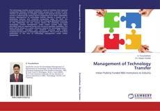 Обложка Management of Technology Transfer