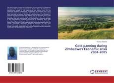 Capa do livro de Gold panning during Zimbabwe's Economic crisis 2004-2005