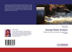 Обложка Sewage Water Analysis