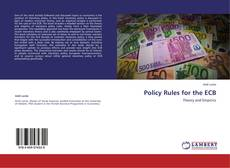 Buchcover von Policy Rules for the ECB