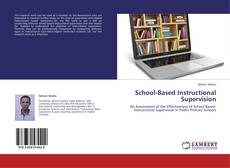 Capa do livro de School-Based Instructional Supervision