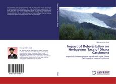 Portada del libro de Impact of Deforestation on Herbaceous Taxa of Dhara Catchment