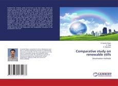 Couverture de Comparative study on renewable stills