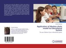 Bookcover of Application of Markov chain model to Educational System
