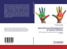 Bookcover of Socio-Personal Development of School Children