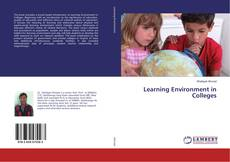 Capa do livro de Learning Environment in Colleges