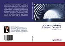 Bookcover of A Program and Policy Archeology Framework
