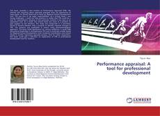 Portada del libro de Performance appraisal: A tool for professional development