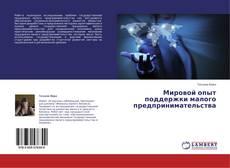 Bookcover of Мировой опыт поддержки малого предпринимательства