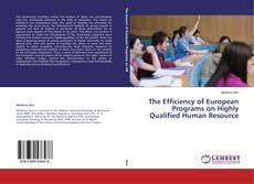 Обложка The Efficiency of European Programs on Highly Qualified Human Resource