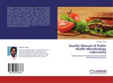 Обложка Quality Manual of Public Health Microbiology Laboratory