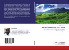 Bookcover of Estate Tamils in Sri Lanka