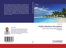 Buchcover von Public Relations Perception