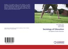 Buchcover von Sociology of Education