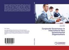 Portada del libro de Corporate Governance in International Non Governmental Organizations