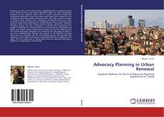 Copertina di Advocacy Planning in Urban Renewal