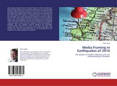 Bookcover of Media Framing in Earthquakes of 2010