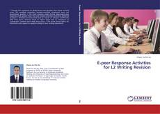Portada del libro de E-peer Response Activities for L2 Writing Revision