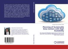 Portada del libro de Planning of Sustainable Data Centers with High Availability