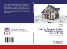 Buchcover von Study on Domestic Rooftop Water Harvesting for Junagadh City