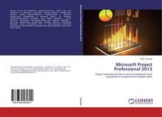 Portada del libro de Microsoft Project Professional 2013
