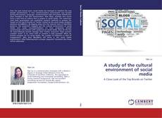 Bookcover of A study of the cultural environment of social media