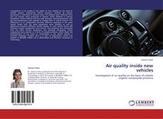 Bookcover of Air quality inside new vehicles