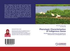 Bookcover of Phenotypic Characterization of Indigenous Goose