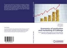 Portada del libro de Economics of production and marketting of Cabbage