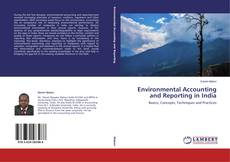 Capa do livro de Environmental Accounting and Reporting in India