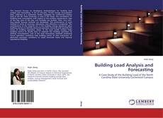 Bookcover of Building Load Analysis and Forecasting