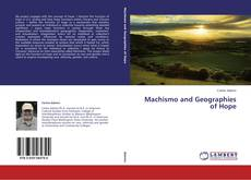 Capa do livro de Machismo and Geographies of Hope