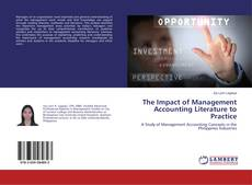 The Impact of Management Accounting Literature to Practice kitap kapağı
