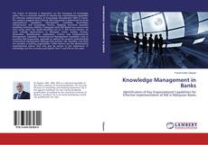 Bookcover of Knowledge Management in Banks