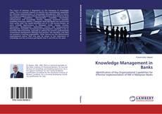 Buchcover von Knowledge Management in Banks