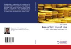 Couverture de Leadership in times of crisis
