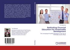 Capa do livro de Rethinking Financial Education For Sustainable Development