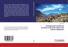 Couverture de A proposed model to analyse risk and return for Cloud adoption