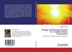 Energy and Exergy Analysis of a Captive Steam Powerplant kitap kapağı