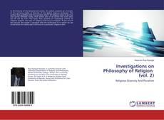 Обложка Investigations on Philosophy of Religion (vol. 2)