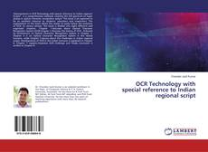 Bookcover of OCR Technology with special reference to Indian regional script