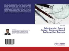 Adjustment of Current Account Components and Exchange Rate Regimes kitap kapağı