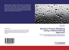 Couverture de Business Process Modeling Using a Metamodeling Approach