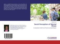 Bookcover of Social Perception of Mental Illness
