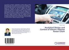 Bookcover of Analytical Design and Control of Electric Vehicles Power Chain