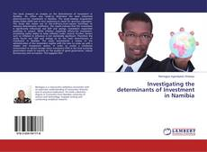 Copertina di Investigating the determinants of Investment in Namibia