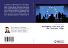 Copertina di Adult education policy in the European Union